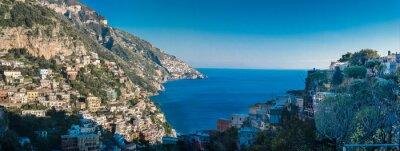 Фотообои Побережье Амальфи между Неаполем и Салерно. Италия