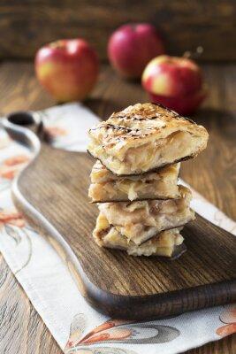 Фотообои яблочный пирог