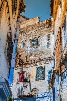 Фотообои Архитектурная деталь в Шефшауэн, Марокко, Африка