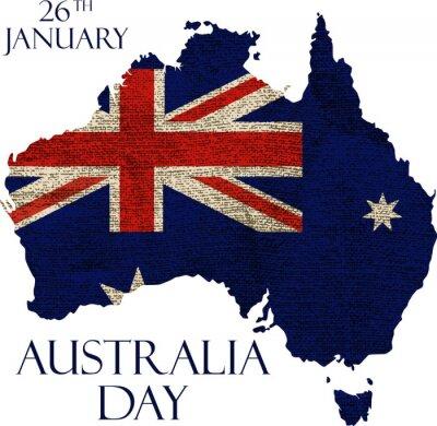 Фотообои День Австралии постер