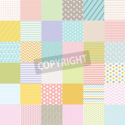 Фотообои Baby Shower Плакат, векторные иллюстрации