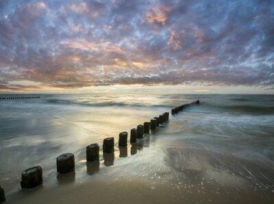 Фотообои Bałtycki zachód słońca