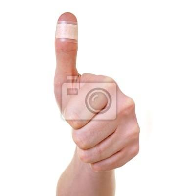 Что делать если порезала большой палец на руке