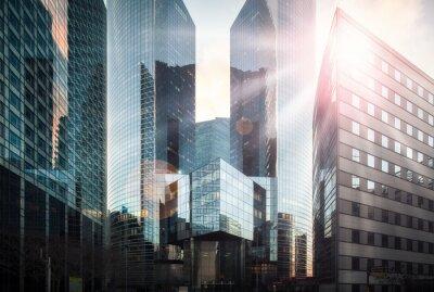 Фотообои Bankenviertel им Sonnenschein