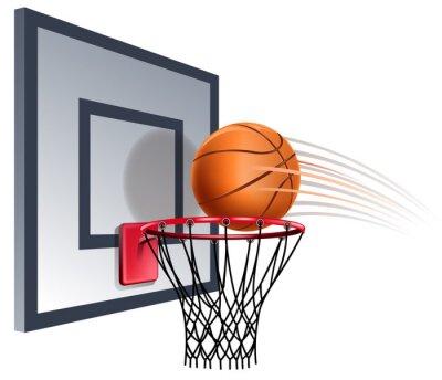 Фотообои basketball hoop