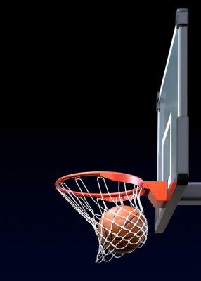 Фотообои Баскетбол выстрел