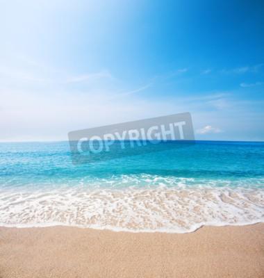 Фотообои Пляж и прекрасное тропическое море