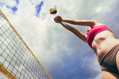 Фотообои пляжный волейбол