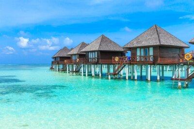 Фотообои пляж с Мальдивы