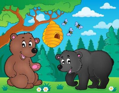 Фотообои Медведи в теме изображения природы 4