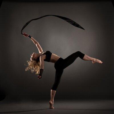 Фотообои красивой балерина