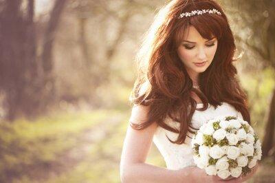 Фотообои Красивая невеста