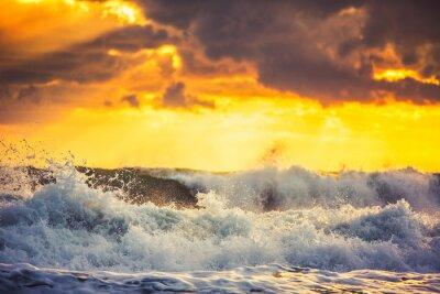 Фотообои Красивые облака над морем