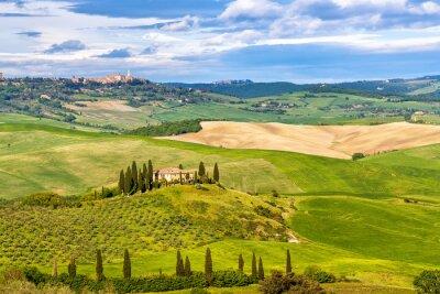 Фотообои Красивый пейзаж в Тоскане, Италия