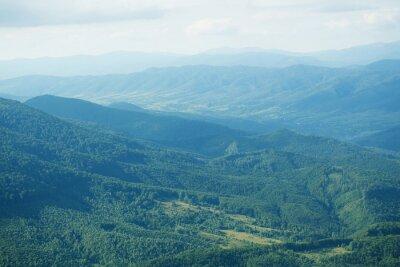 Фотообои Красивые горные вершины