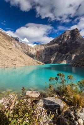 Фотообои Красивые горные пейзажи в Андах, Перу, Cordiliera Бланка