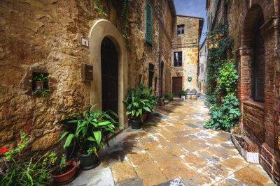 Фотообои Красивые уголки и закоулки средневековой итальянской деревни в
