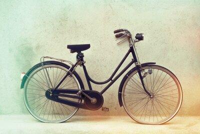Фотообои красивый Старый ржавый велосипед ретро с удивительным эффектом цвета на