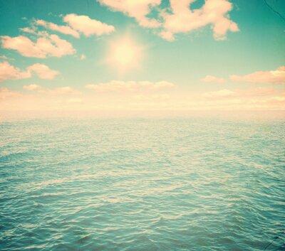 Фотообои Красивое небо и синее море