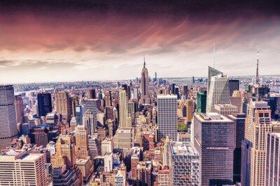 Фотообои Прекрасный вид города Нью-Йорка