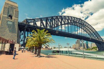 Фотообои Прекрасный вид на мост Sydney Harbour
