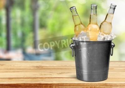 Фотообои Бутылка пива.