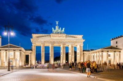 Фотообои Берлин - 4 августа 2013: Бранденбургские ворота 4 августа в Германии