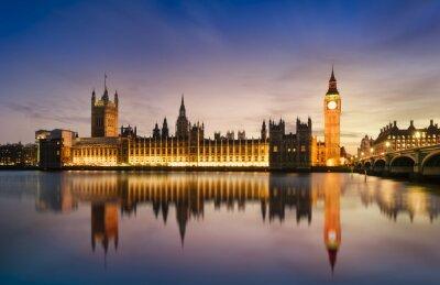 Фотообои Big Ben and House of Parliament