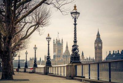 Фотообои Биг Бен и Дома парламента в Лондоне