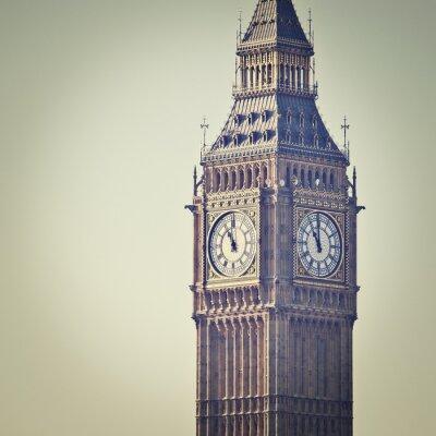 Фотообои Биг-Бен в Вестминстере, Лондон, с эффектом фильтра Instagram