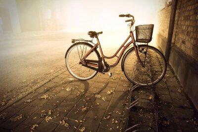 Фотообои Велосипед осенью