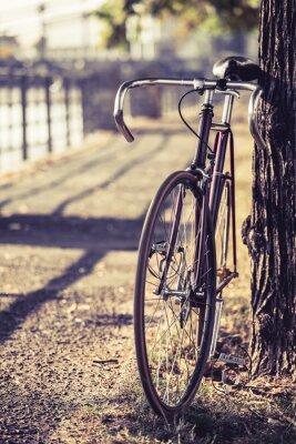 Фотообои Велосипед дорожный велосипед Неубирающимся