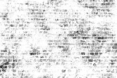 Фотообои Черно-белые стены искусства живописи, вдохновляющие фоновое изображение.