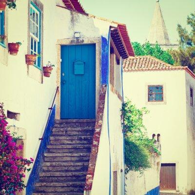 Фотообои Blue Door