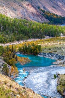 Фотообои Blue River в горах