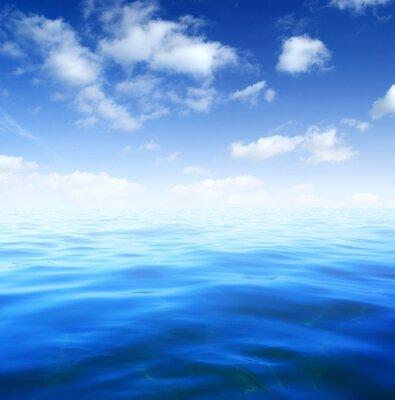 Фотообои Синий морской воды