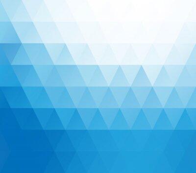 Фотообои Blue White Mosaic Background, Creative Design Templates