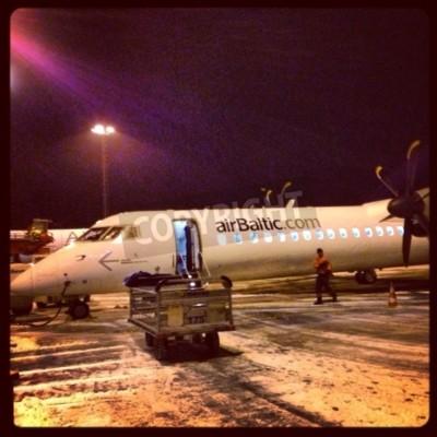 Фотообои Bombardier Q400 8 Даш NextGen
