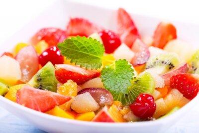 Фотообои Чаша фруктовый салат
