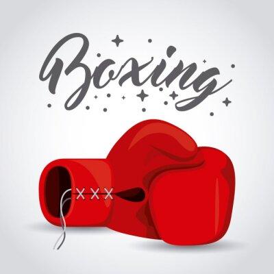 Фотообои бокс спорт дизайн