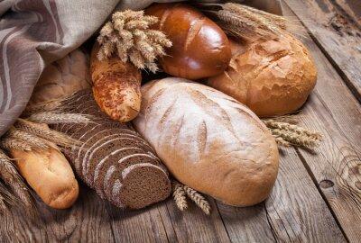 Фотообои Хлеб и уши на старой таблицы
