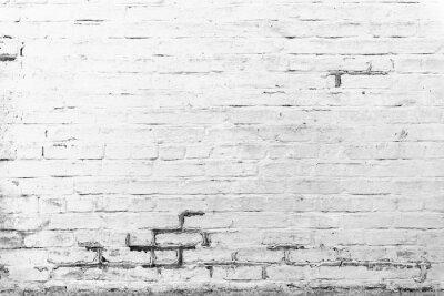 Фотообои Кирпич текстуры с трещин и царапин