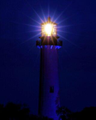 Фотообои Яркий свет / Маяк расположен на Юпитере, штат Флорида