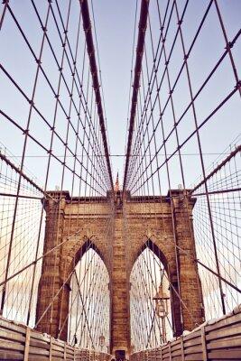 Фотообои Бруклинский мост в Нью-Йорке