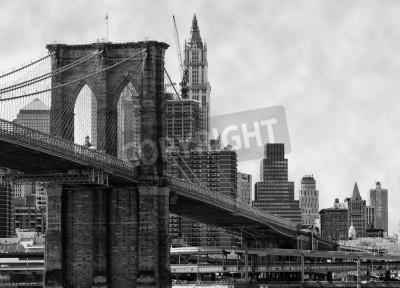Фотообои Brooklyn Bridge New York and East River