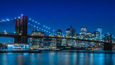 Фотообои Бруклинский мост Нью-Йорк Skyline