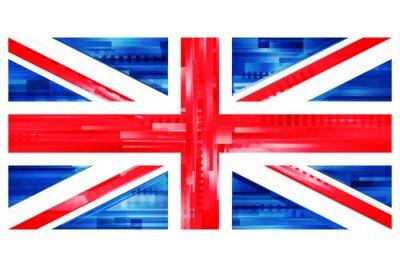 Фотообои brytyjska Flaga Wektor