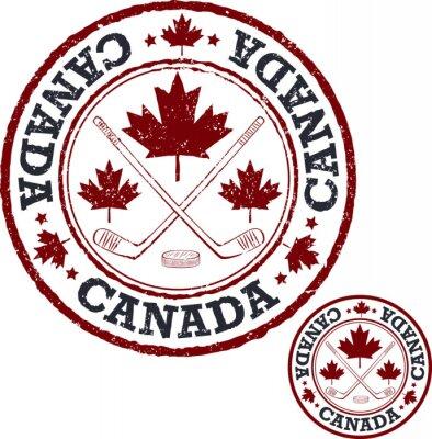 Фотообои Канадский хоккейный штамп.