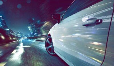 Фотообои Автомобиль на ночь