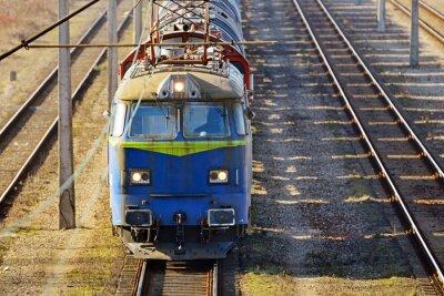 Фотообои Грузовой поезд